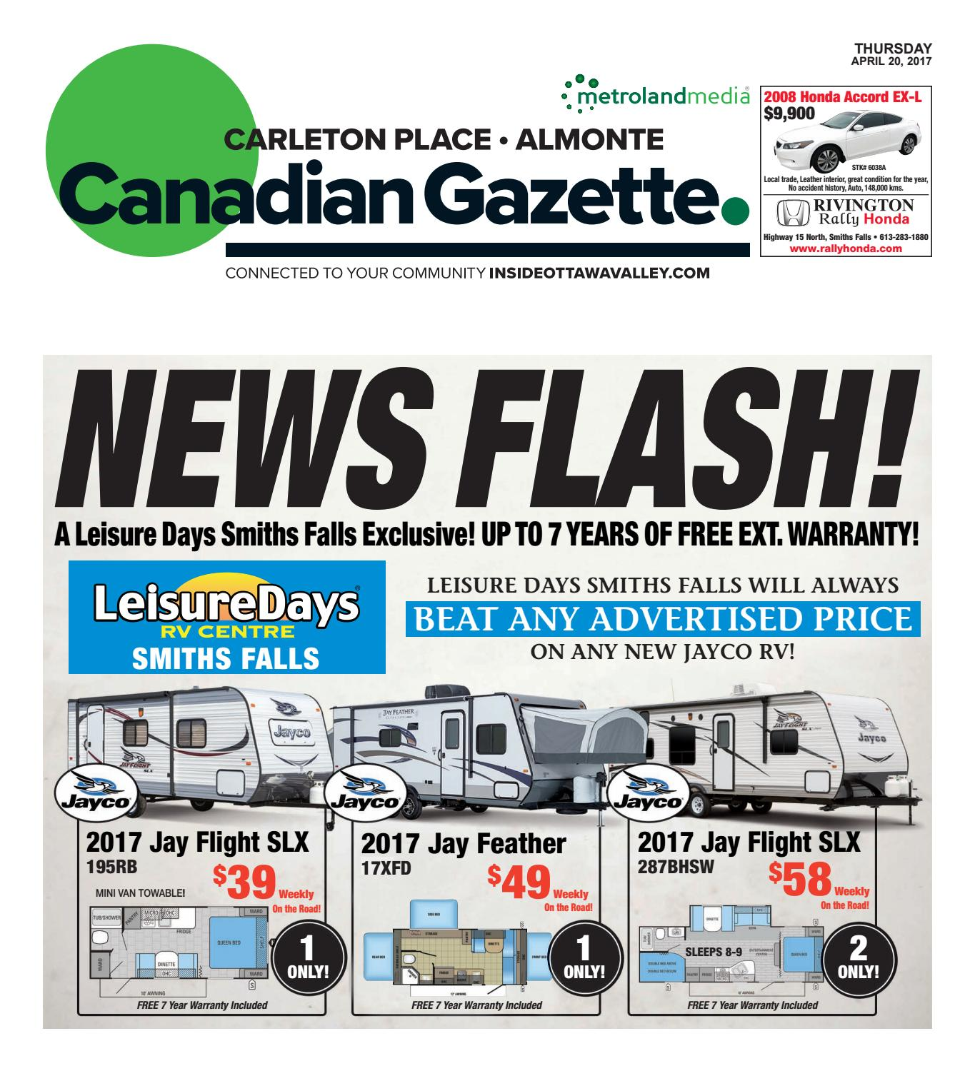 Almontecarletonplace042017 By Metroland East Almonte Carleton Expedition E 6698 Mc Steel Black Titanium Place Canadian Gazette Issuu