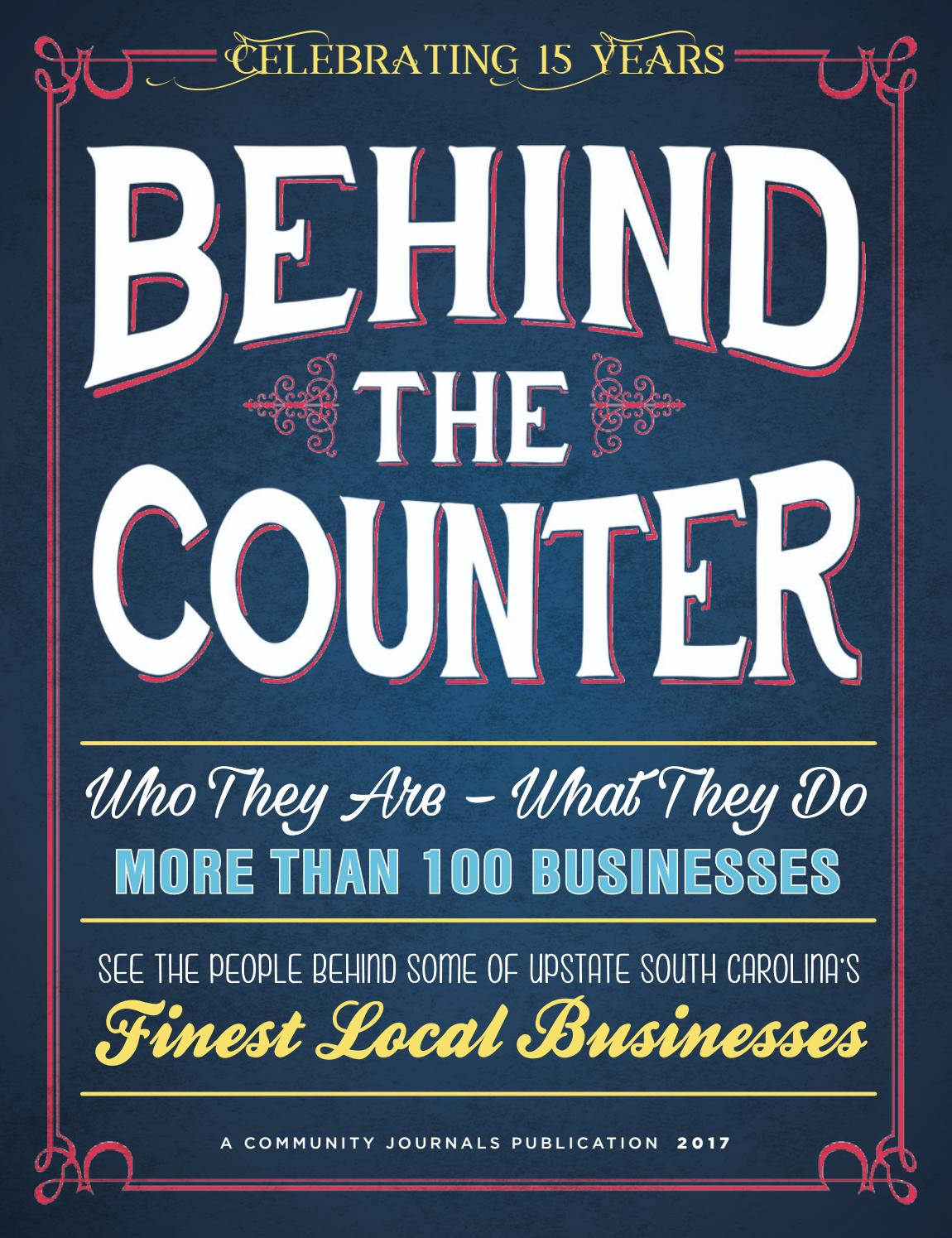 Behind The Counter 2017 by Community Journals - issuu