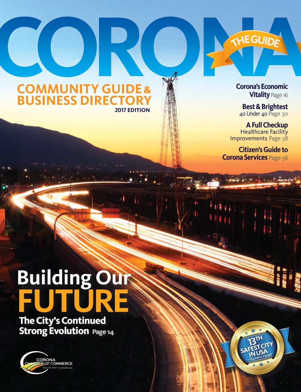 2017 Corona The Guide By Chamber Marketing Partners Inc Issuu 85 Toyota Radio Wiring