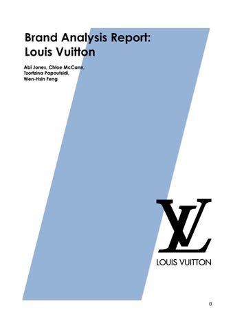 brand analysis louis vuitton Here are the top 25 brand ambassador profiles at louis vuitton on linkedin get all the articles, experts, jobs, and insights you need.