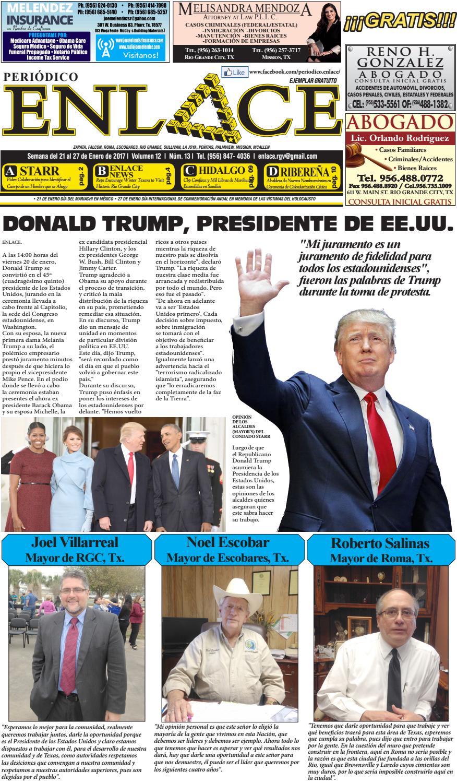 Enlace vol 12 #13 by Periódico Enlace - issuu