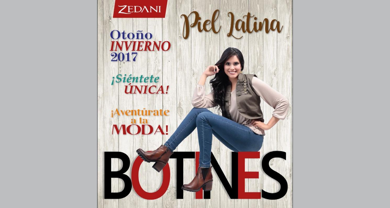 Catalogo Zedani Piel Latina Otoño Invierno 2017 by Yrene ...