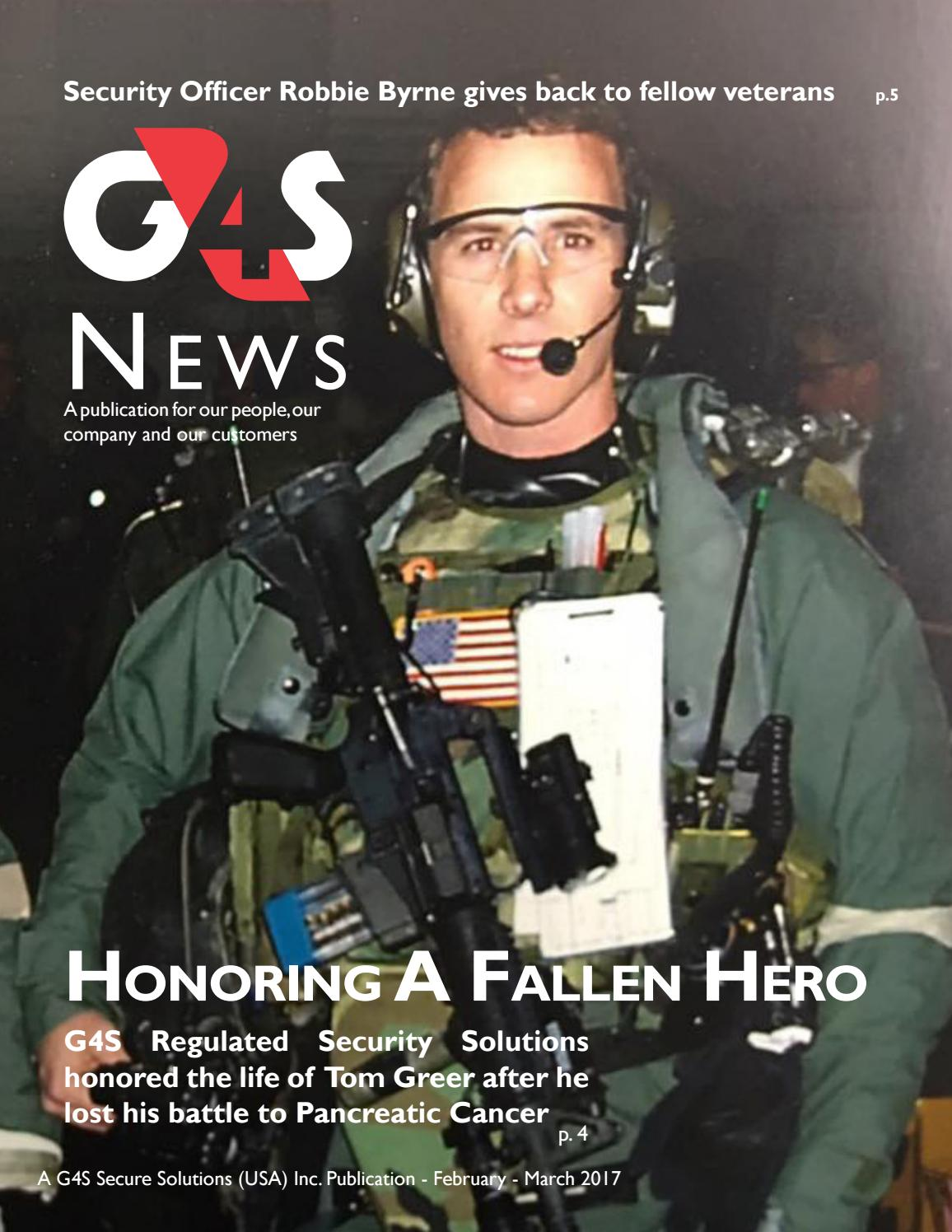 G4s news january march 2017 by g4s news issuu - How to become security officer ...