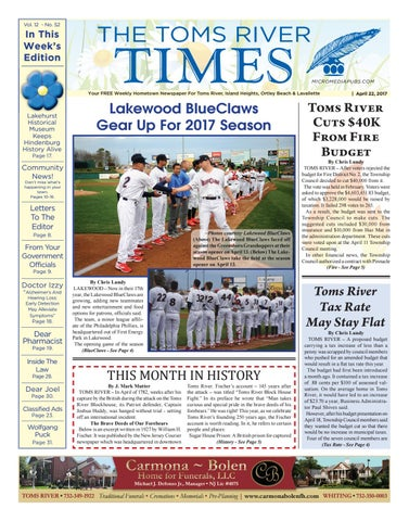 2017 04 22 The Toms River Times By Micromedia Publicationsjersey