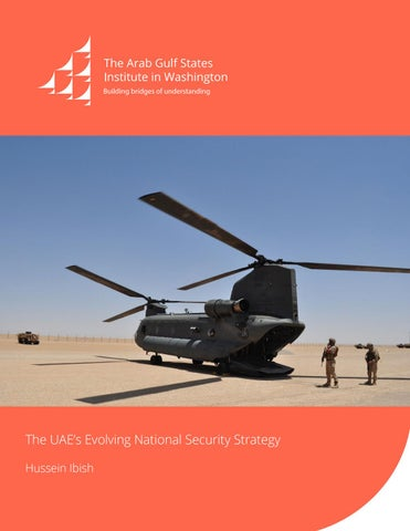 The UAE's Evolving National Security Strategy by AGSIW - issuu