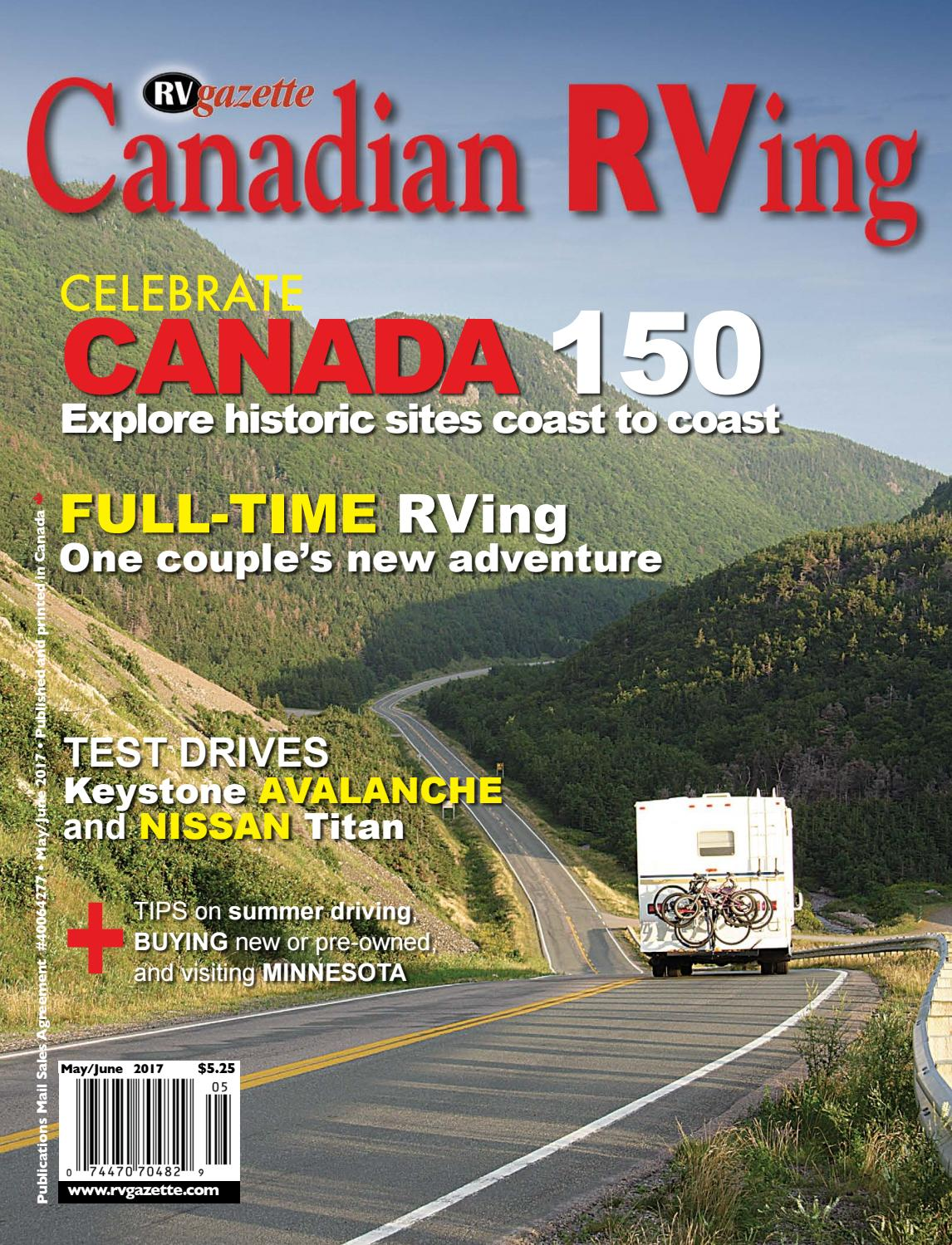 canadian rving may june 2017 by dovetail communications issuu