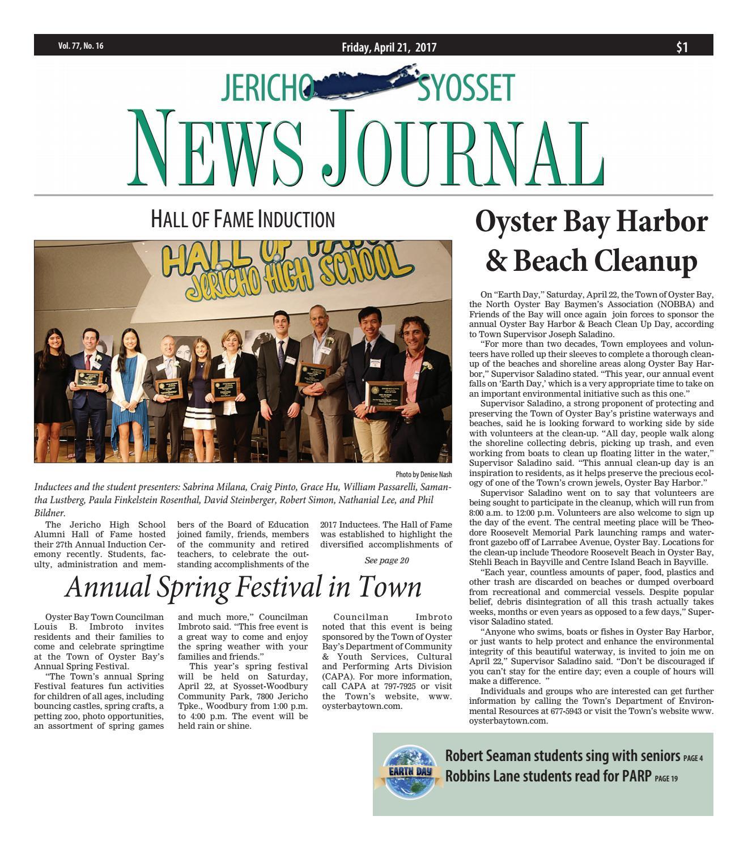 The Jericho-Syosset News Journal by Litmor Publishing - issuu on