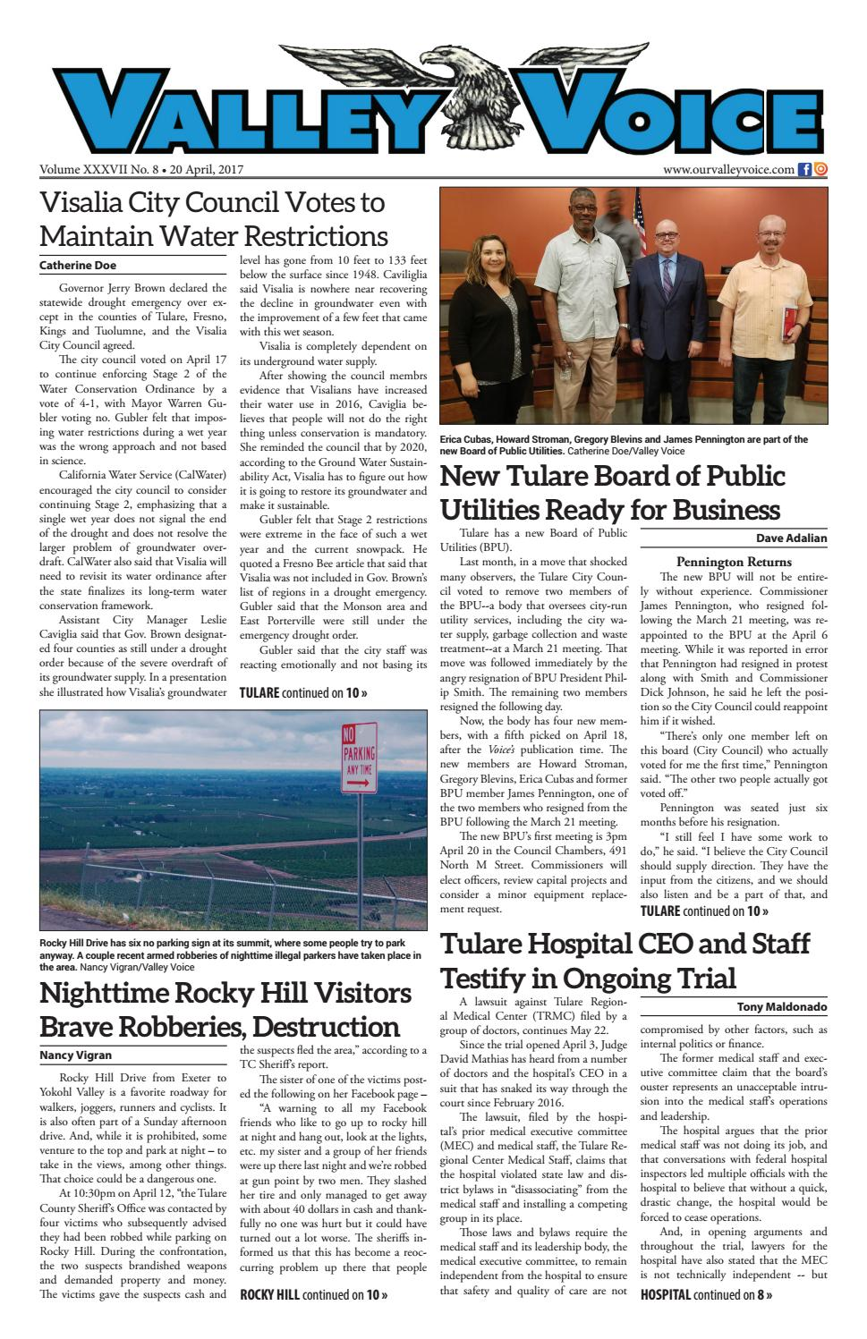 Valley Voice Issue 91 (20 April, 2017)