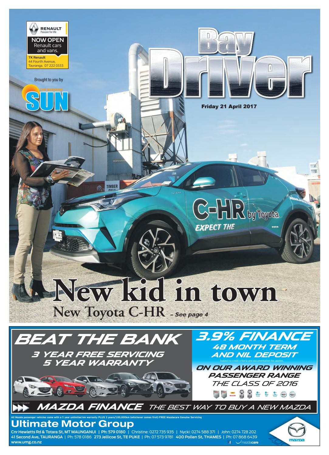Bay Driver 21 April 2017 by SunLive - issuu