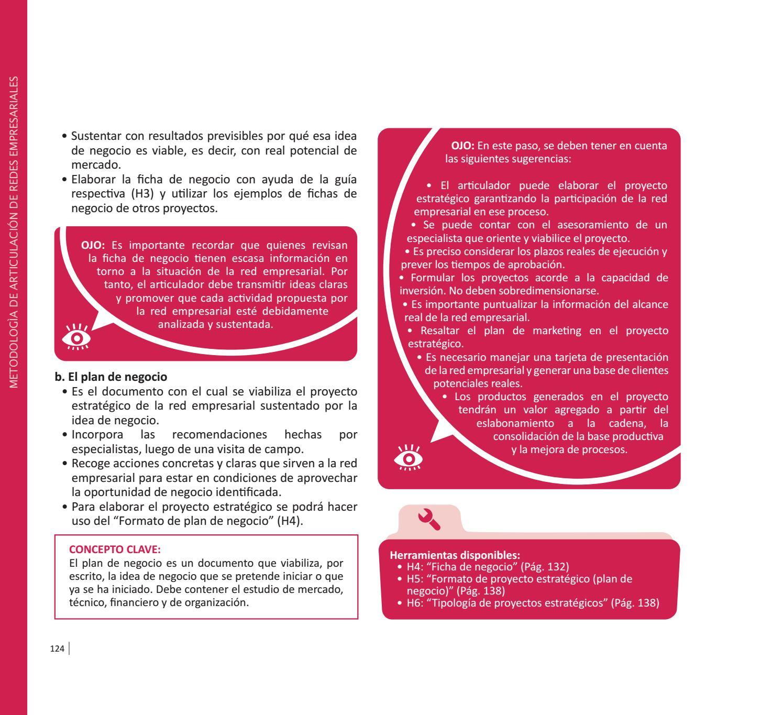 metodología de articulación de redes empresariales by agrorural issuu