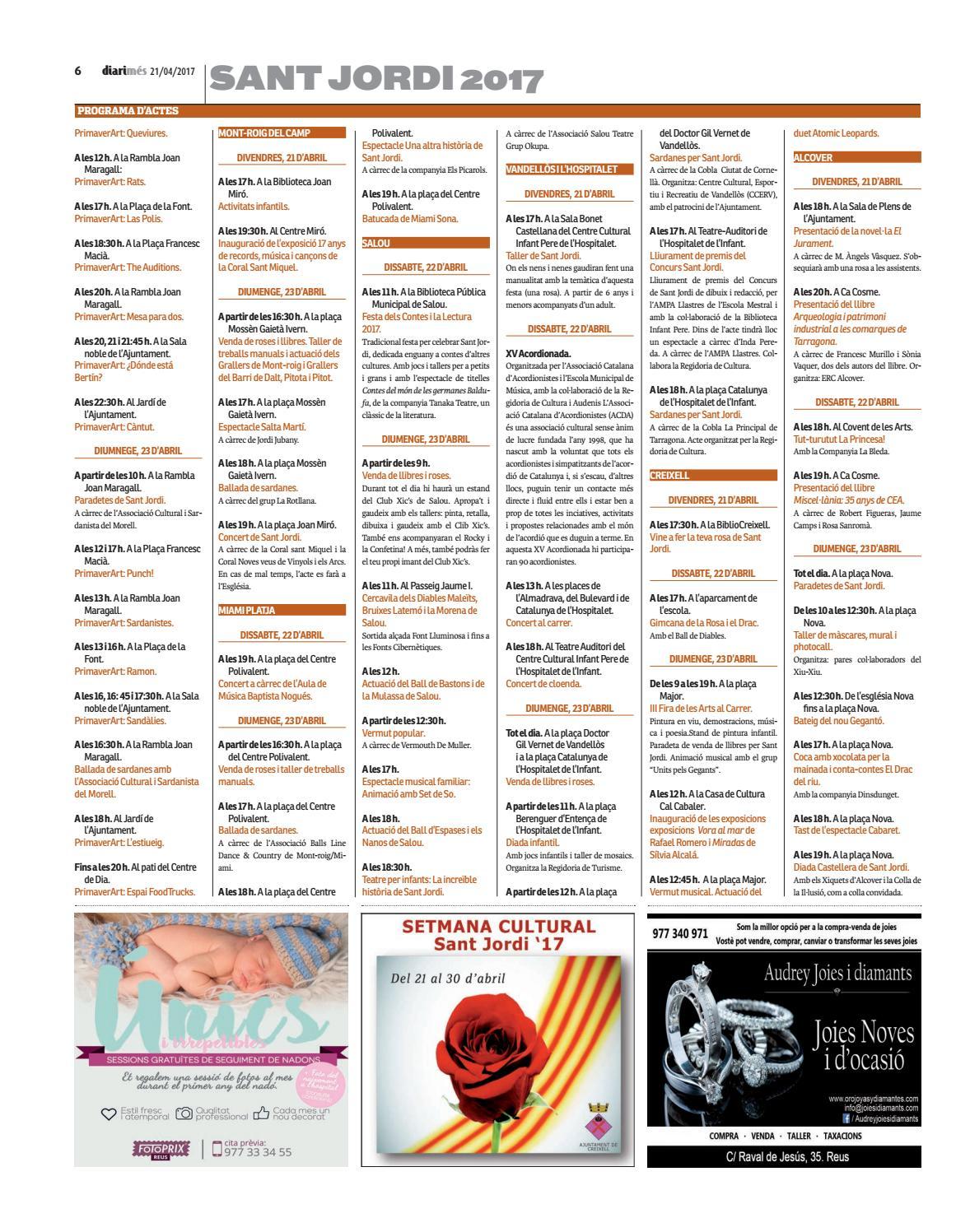 21 2017 Issuu Diari Més D'abril De By CeBodx