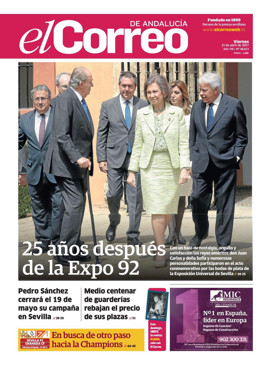 21 04 2017 El Correo De Andaluc A By El Correo De Andaluc A S L  # Muebles Sastre Viso Alcor