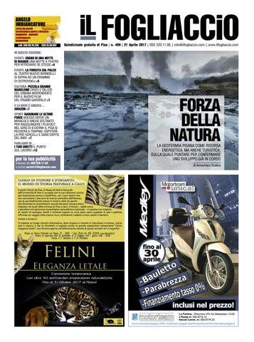 edizione 499 del 21 Aprile 2017 by Il Fogliaccio - issuu ab7ccb017823