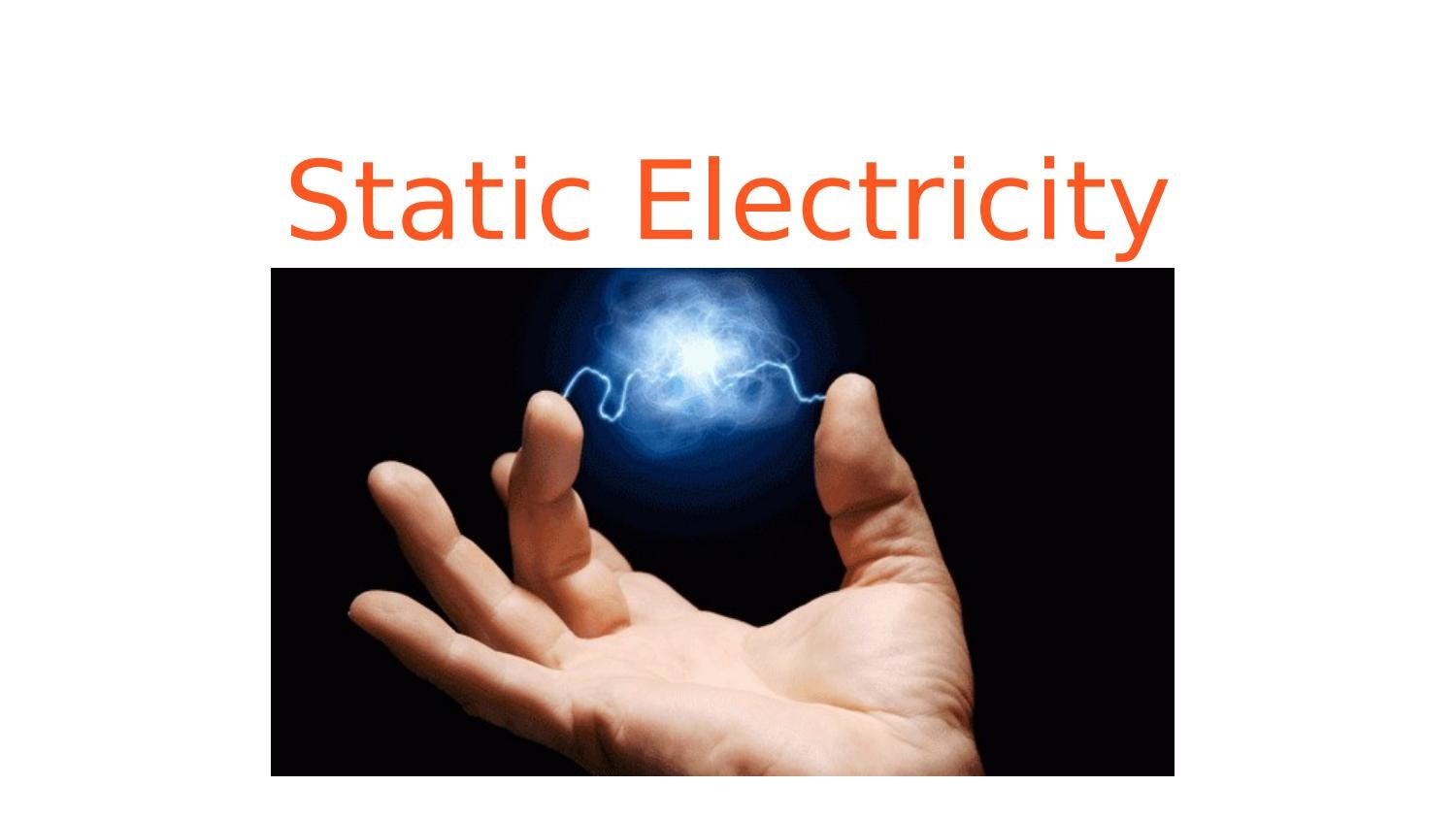 static electricity projects Electricity science projects can we make an electric circuit from everyday items, explain lightning, or even generate an electric current ourselves as we'll see in a moment, the answer is yes, and whether we are designing electronic hobby projects, making a windmill generator or even simulating a lightning bolt with a static electricity.
