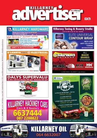 90c6c52ee1c174 Killarney Advertiser 21st April, 2017 by Killarney Advertiser - issuu