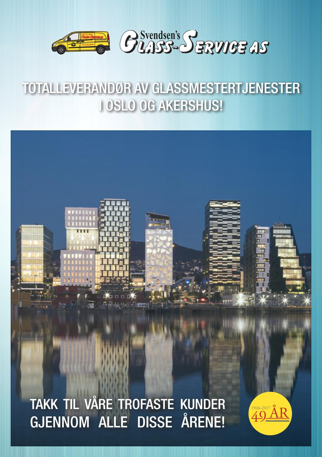 Svendsens glass service as