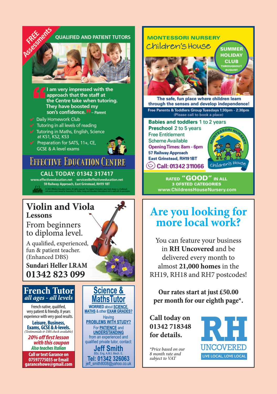RH Uncovered East Grinstead Edition May 2017 by Mantra