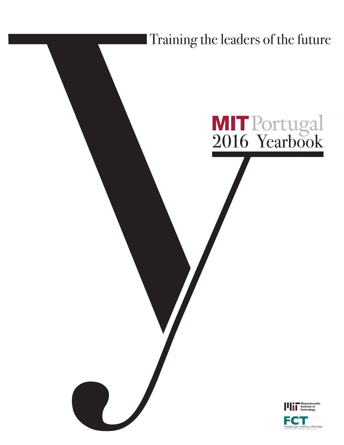 MIT Portugal Yearbook 2016 By MIT Portugal Program Issuu