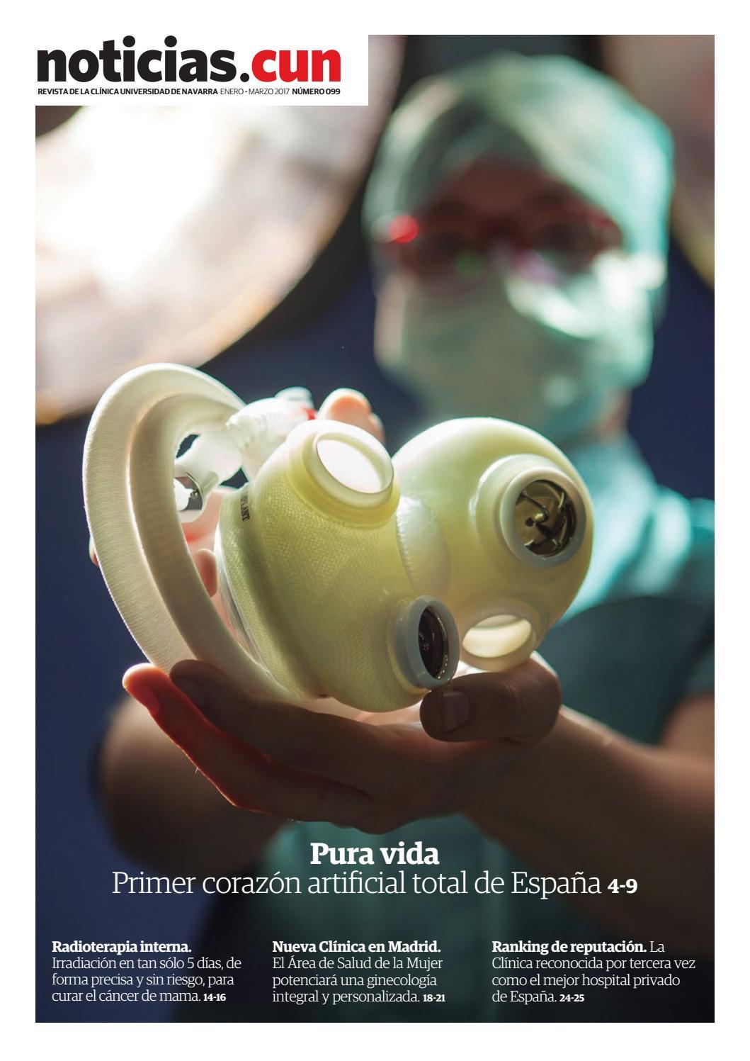 Revista NoticiasCUN nº 99 by Clínica Universidad de Navarra - issuu