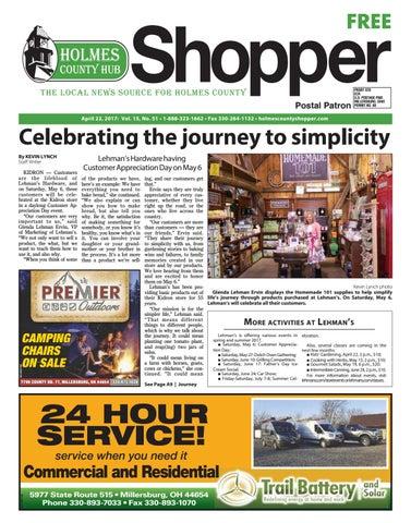 Holmes County Hub Shopper, April 22, 2017 by GateHouse Media NEO - issuu