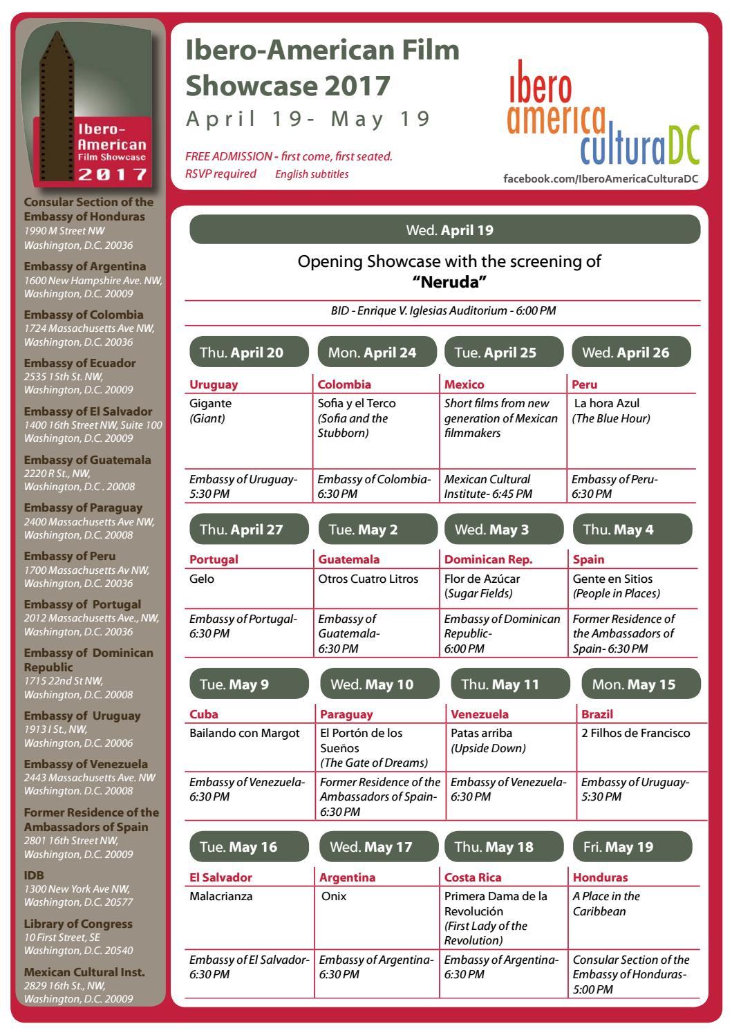 Filmfest 2017 calendar agenda by aacia - issuu