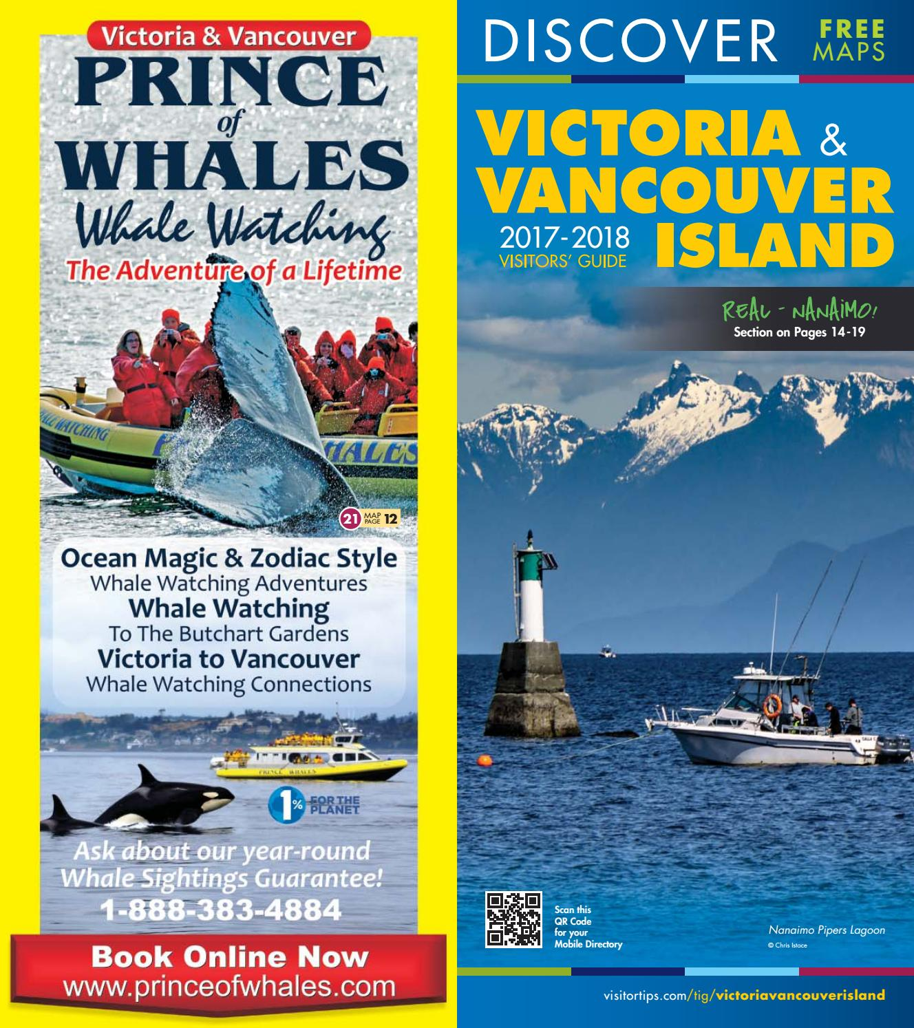 2017 2018 Victoria & Vancouver Island Visitors Guide by Certified