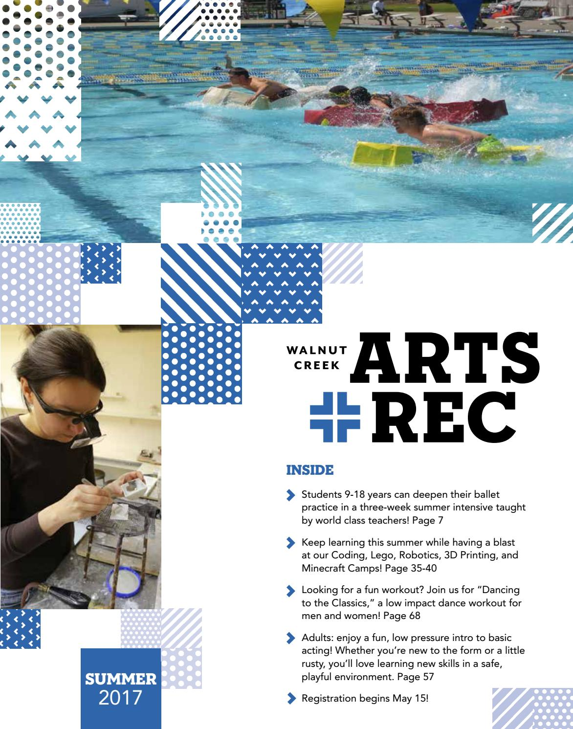 b65dde782a26d City of Walnut Creek Guide to Arts + Rec - Summer 2017 by City of Walnut  Creek - issuu