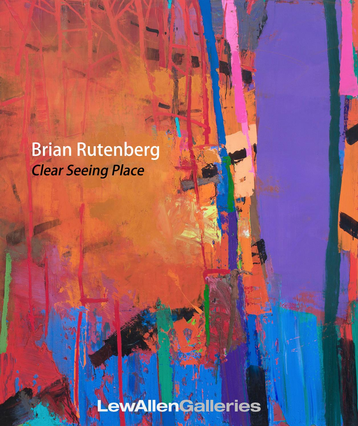 Brian Rutenberg Clear Seeing Place By Lewallen Galleries
