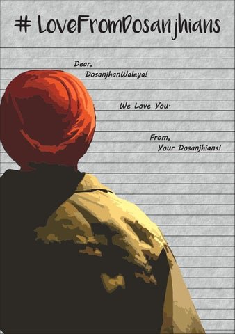 Love from dosanjhians - April Main by Love From Dosanjhians - issuu