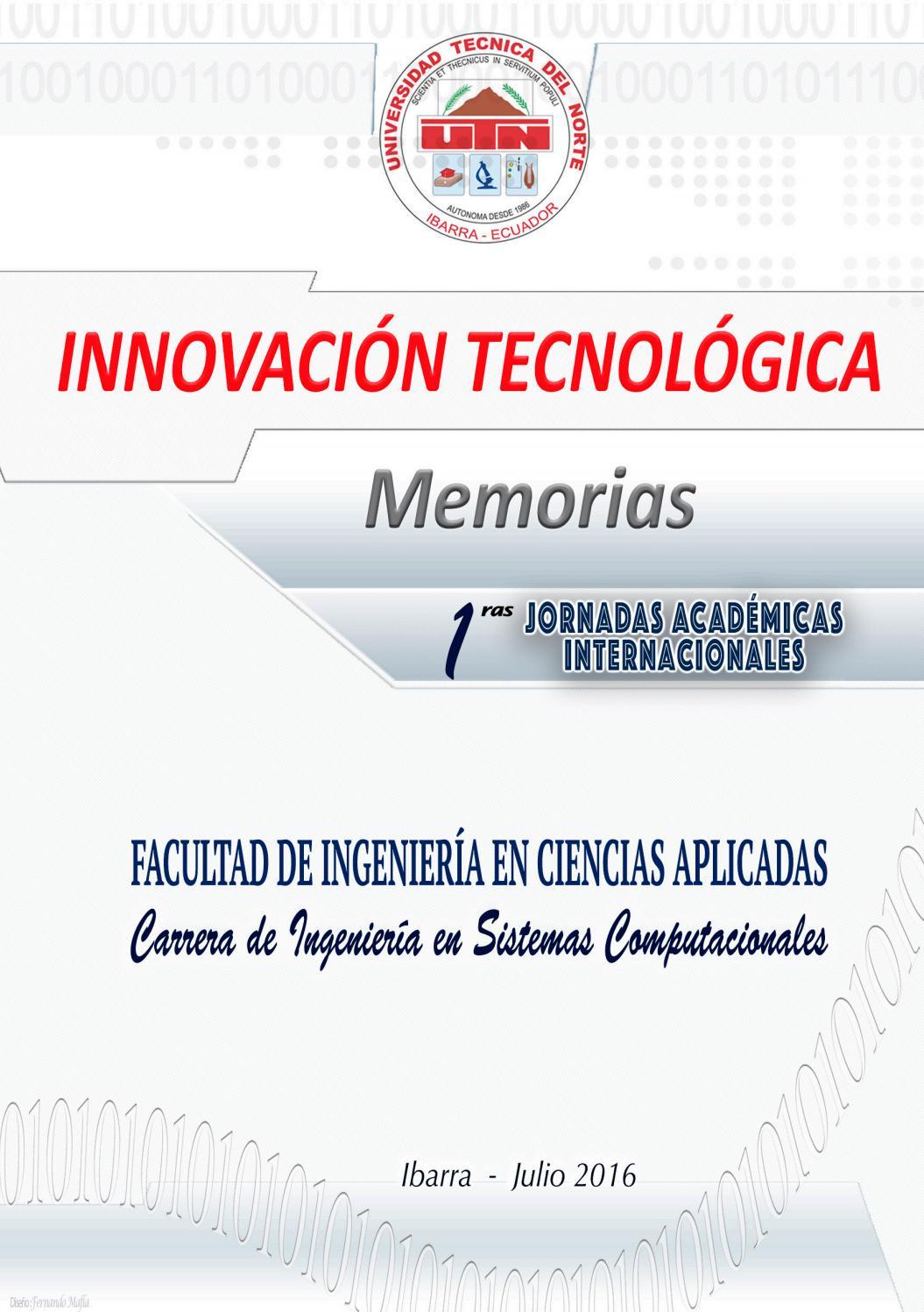 eBook Innovación Tecnológica CISIC by Editorial Universidad ...