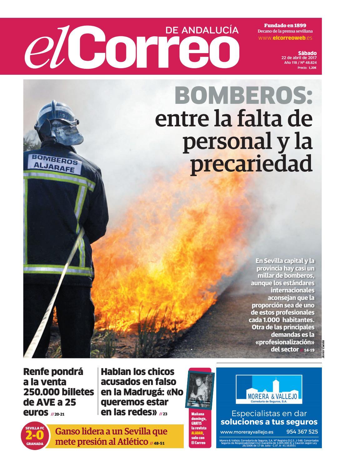 22 04 2017 El Correo De Andaluc A By El Correo De Andaluc A S L  # Muebles Sastre Viso Alcor