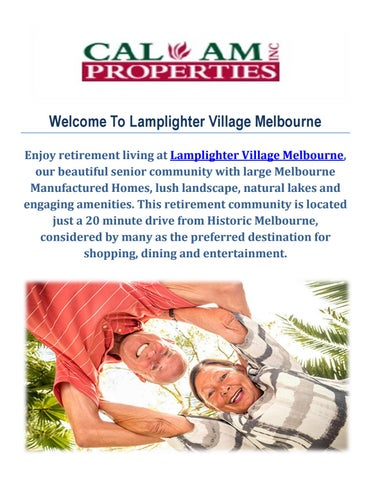 Melbourne Fl Community Profile By Town Square Publications Llc Issuu