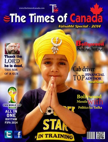 Vaisakhi 2014 by The Times of Canada - issuu