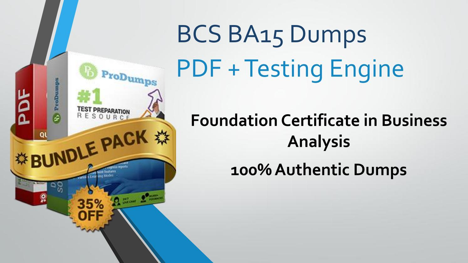 Get Bcs Ba15 Dumps Download Ba15 Questions Instantly By Stephanie