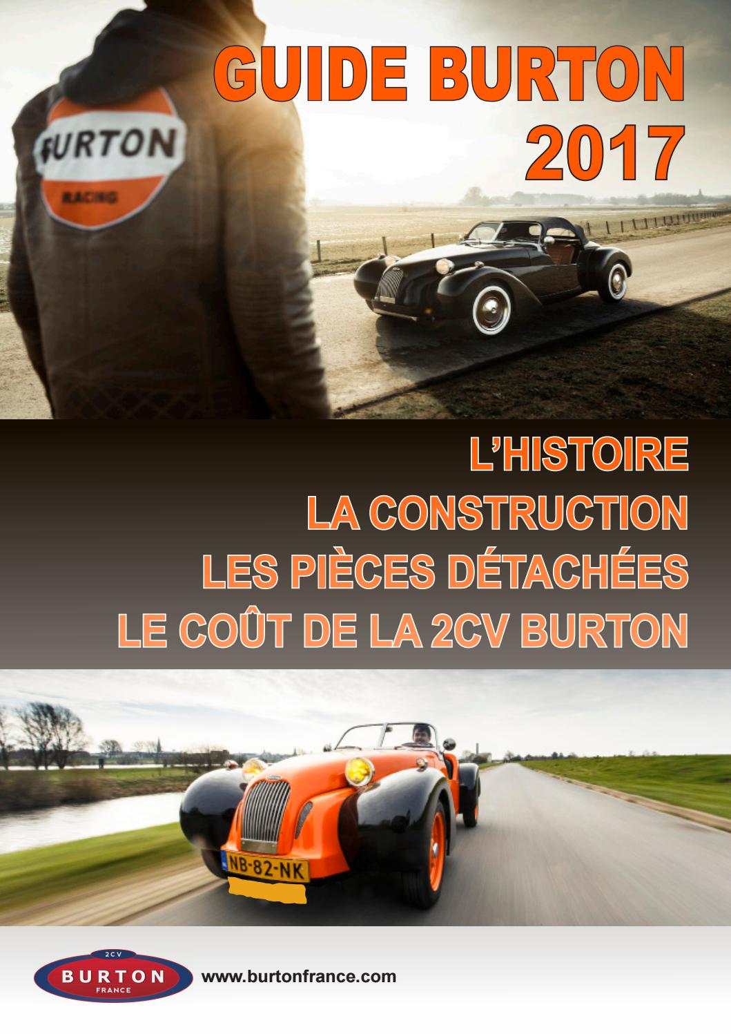 guide 2cv burton voiture de sport 2017 by 2cv burton