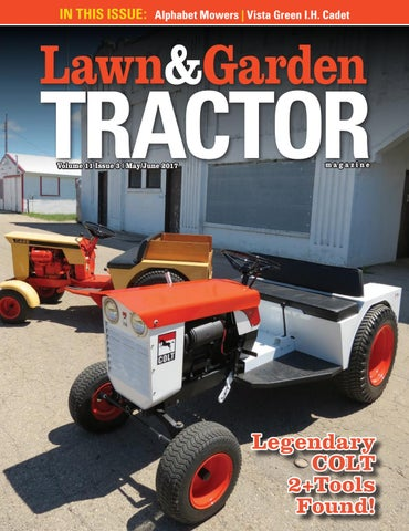 Lawn and garden tractor magazine by sherman studios issuu in this issue alphabet mowers vista green ih cadet fandeluxe Images
