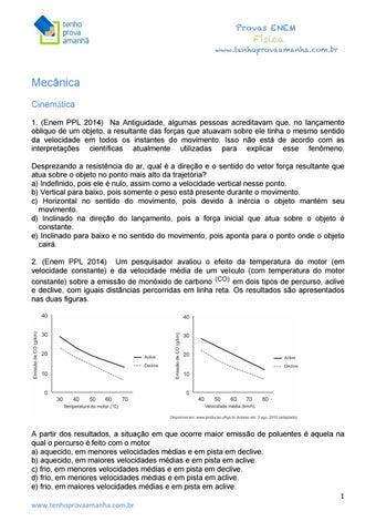 0692b8558a1 1 0 física do enem tenho prova amanhã by Júlio César - issuu