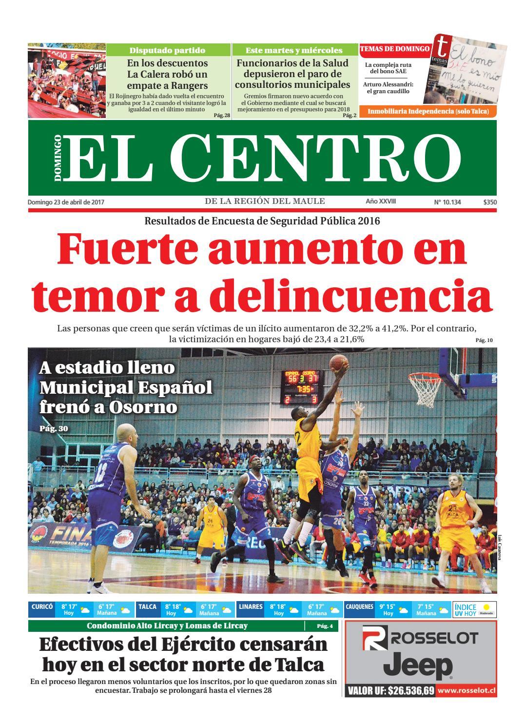 Diario 23-04-2017 by Diario El Centro S.A - issuu