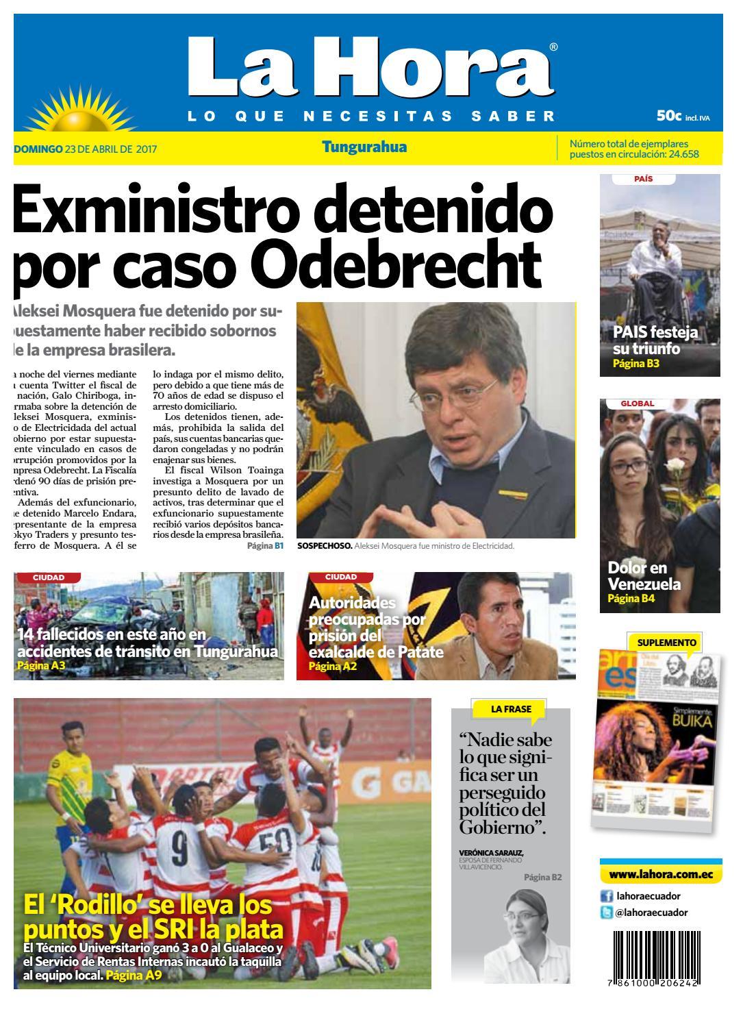 Ambato23abril2017 by Diario La Hora Ecuador - issuu 8905e769d96
