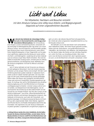 Alnatura Magazin Mai 2017 By Alnatura Produktions Und Handels