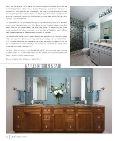 Home And Design | Distinctive Design | Southwest Florida May 2017 by Naples Kitchen And Bath on clermont kitchen and bath, alba kitchen and bath, atlanta kitchen and bath, florida kitchen and bath, new home kitchen and bath, savannah kitchen and bath,