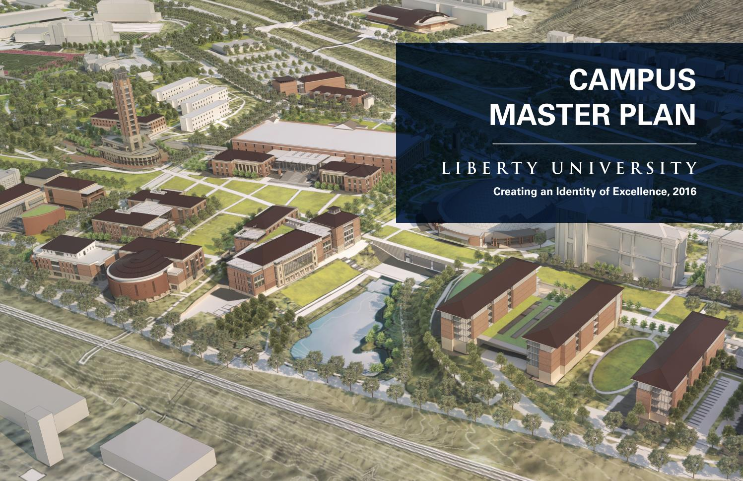 Liberty University Campus Master Plan By Vmdo Architects