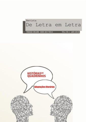6f462000342 RevistaDeLetraEmLetra vol3 n1 2016 by Revista De Letra em Letra - issuu