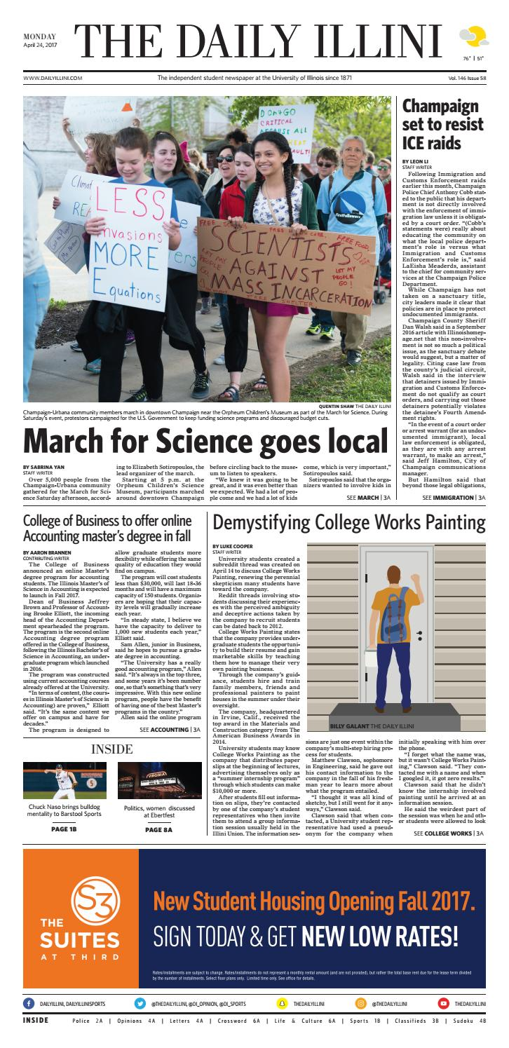 ddf903fd9fb74 The Daily Illini  Volume 146 Issue 58 by The Daily Illini - issuu