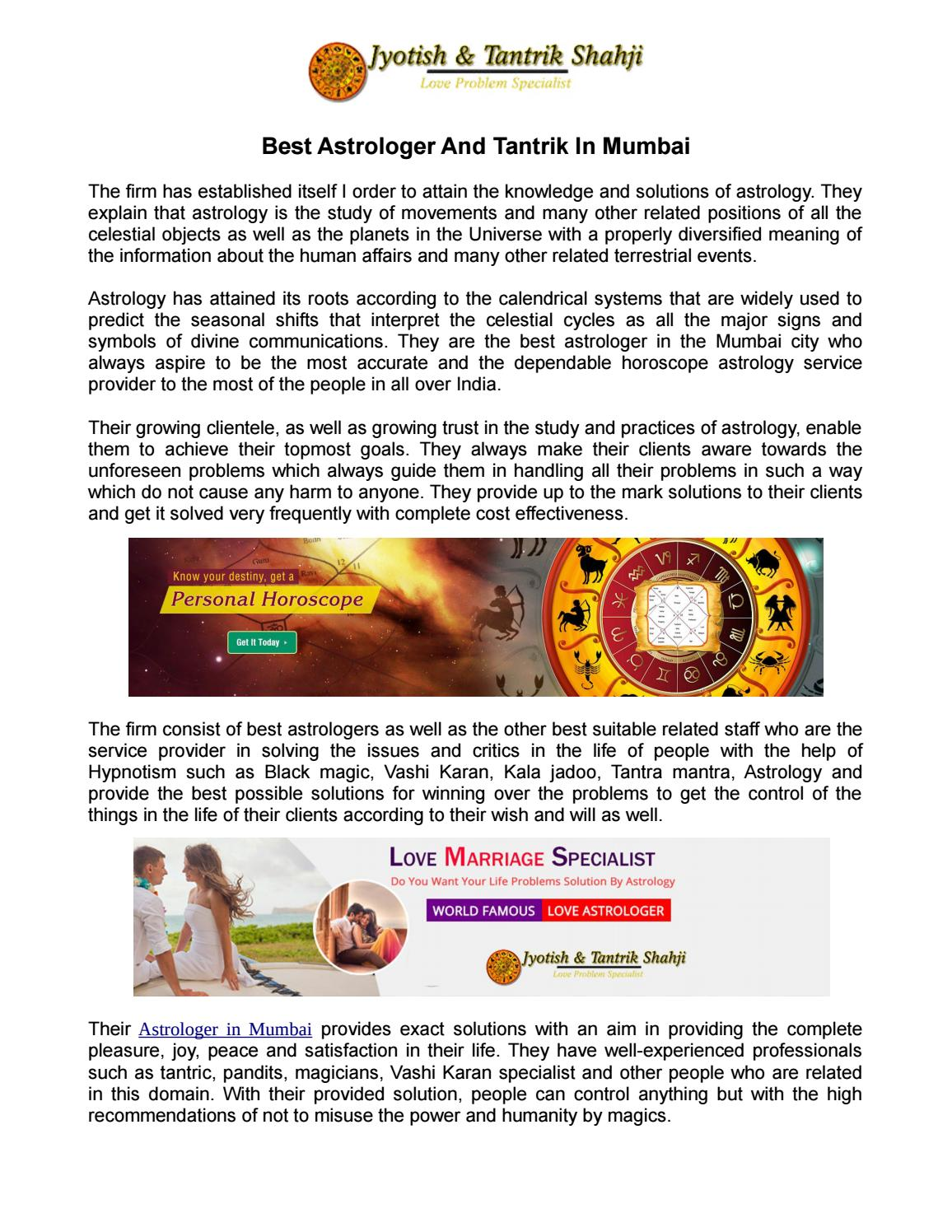 Best Astrologer And Tantrik In Mumbai by jyotishshahji - issuu