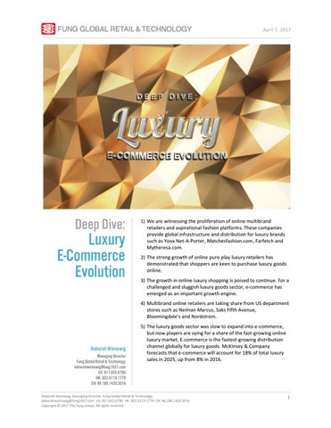 0db2039f1 Luxury e-Commerce Evolution by Fung Global Retail   Technology - issuu