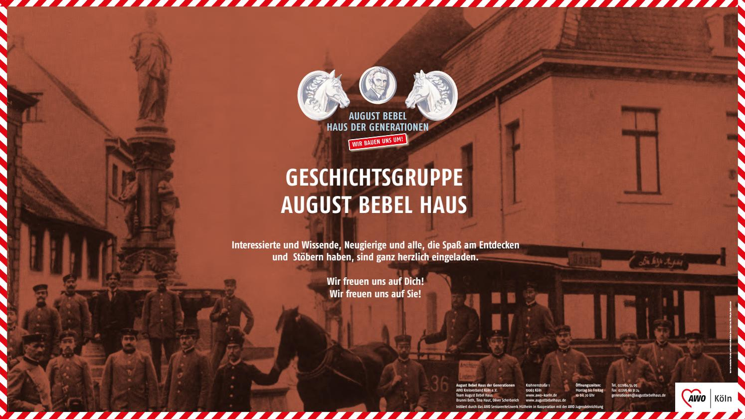 August Bebel Haus Köln Geschichte By Eva Rusch Issuu
