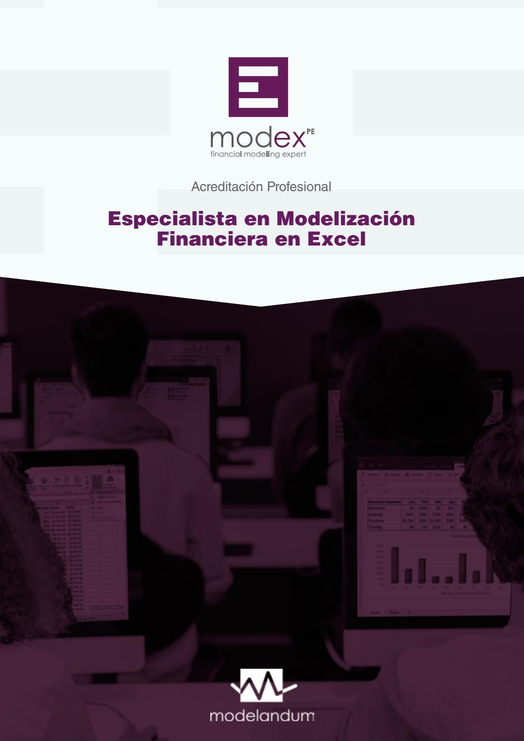 Brochure modex PE by LN Creatividad y Tecnología - issuu