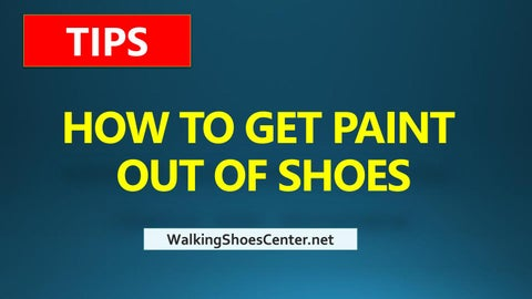 Shoes Tips How To Get Paint Off Shoes Remove Paint From Shoes By - How to get paint off shoes