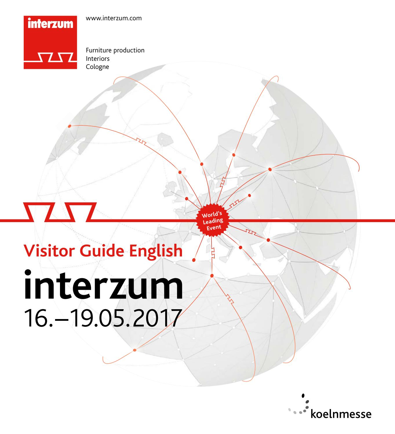 interzum 2017 Visitor Guide GB by Koelnmesse GmbH - issuu on